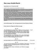 GmbH-Recht - Notariat NUSSBAUM - Seite 2