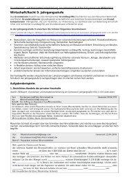 Grundwissen- und Kompetenzorientierung 9. Jahrgangsstufe