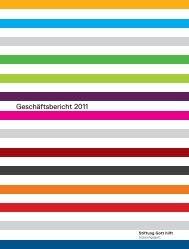 Geschäftsbericht 2011 - Stiftung Gott hilft