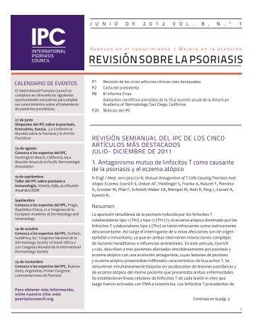 IPC_June 2012_Spanish_v7.indd - International Psoriasis Council
