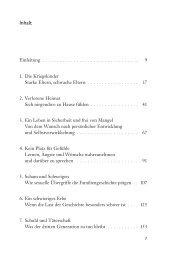 Leseprobe: Einleitung und Kapitel 3