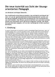 Die neue Autorität aus Sicht der lösungs - ZLB Schweiz