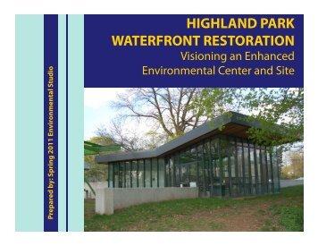 highland park waterfront restoration - Sustainable Raritan River ...