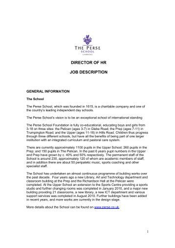 Job Fact Sheet  Director Of Hr  City Of Yorkton