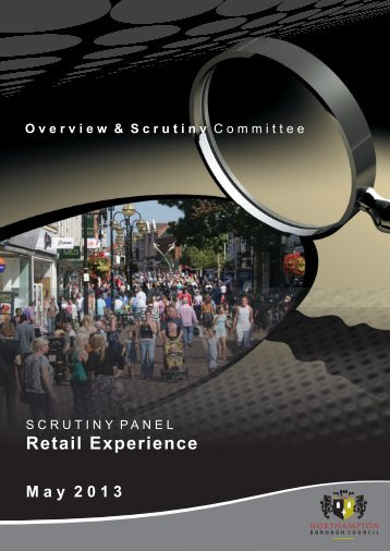 Retail Experience PDF 2 MB - Northampton Borough Council