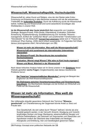 Wissenschaft und Hochschulen - Gothia