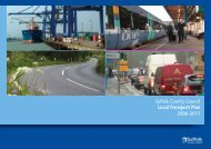 Suffolk County Council Local Transport Plan 2006-2011