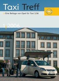 Eine Beilage von Opel für Taxi 3 06 - Opel Special Vehicles