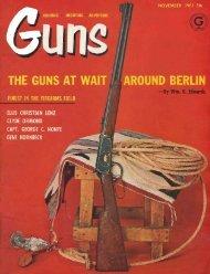 GUNS Magazine November 1961 - Jeffersonian