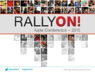 Support Multiple Modes of Team Collaboration - Rally Software