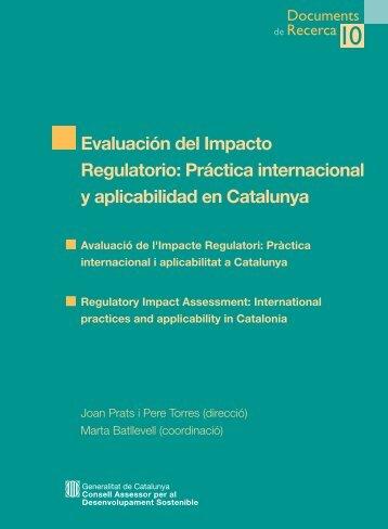 CADS10 Castellano. 2006 - Generalitat de Catalunya