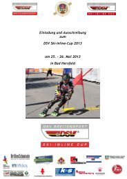 Einladung und Ausschreibung zum DSV Ski-Inline-Cup 2013 am 25 ...
