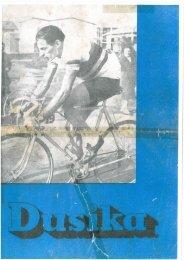 Dusika Katalog aus den 1960ern - 2-Pedals