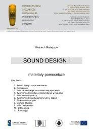 SOUND DESIGN I