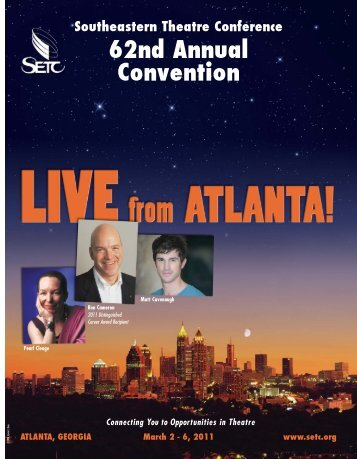 Complete Convention Program - Southeastern Theatre Conference