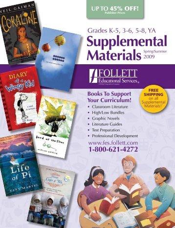 Supplemental MaterialsSpring - Follett Educational Services