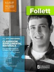 Fall 2012 High School Supplemental Materials Catalog - Follett ...