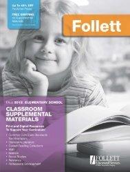 classroom supplemental materials - Follett Educational Services