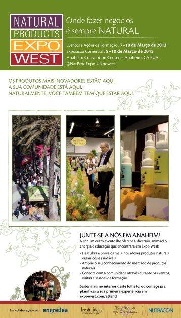 Onde fazer negocios é sempre NATURAL - Natural Products Expo ...