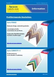 Serie FENICE Serie CONFETTI II NEU NEU - Aicham Larson-Juhl ...