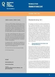 Arbeitsrecht - HLFP