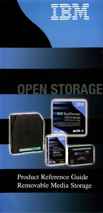 IBM OpenStorage Product Reference Guide ... - OpenStorage AG