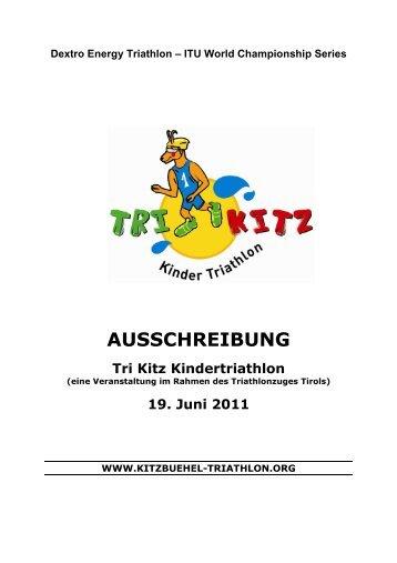 AUSSCHREIBUNG - ITU World Triathlon Kitzbuehel