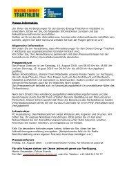 Presse Information Um Ihnen die Vorbereitungen für den Dextro ...