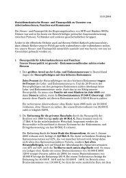 18.8.2004 Sozialdemokratische Steuer- und Finanzpolitik zu ...