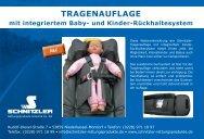 integriertes Baby - Schnitzler Rettungsprodukte GmbH & Co. KG
