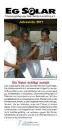 Jahresinfo 2011 04.pmd - EG Solar