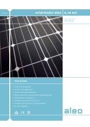 Aleo S19 sol 240/245 - Activity Solar