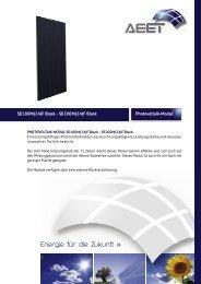 Energie für die Zukunft » - AEET Energy Group GmbH