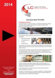 Download Corporate Profile PDF - LC Energy