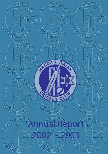 2002/03 Annual Report