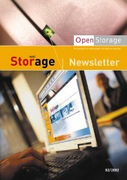 Newsletter 02 / 2002 - OpenStorage AG