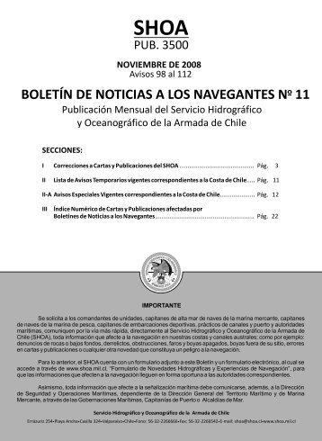 BOLETIN 1 - Shoa