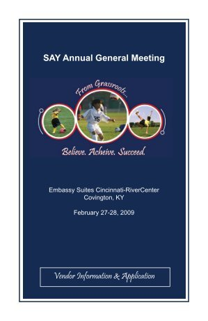 Vendor AGM Info.indd - SAY Soccer