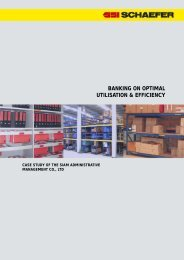 Download Case Study - SSI SCHAEFER