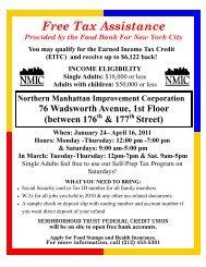 Free Tax Assistance - NMIC