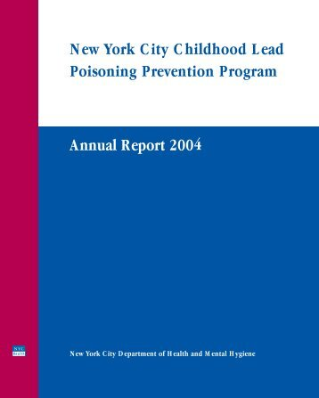 Annual Report 2004 - NYC.gov