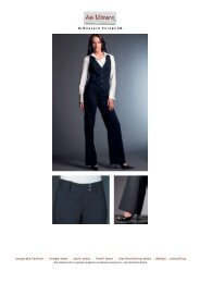 corporate fashion . image wear . work wear . hotel ... - Ask Ullmann