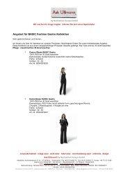 Angebot für BASIC Fashion Gastro Kollektion - Ask Ullmann