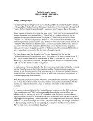 Public Strategies Impact THIS WEEK IN TRENTON April 9, 2009 ...