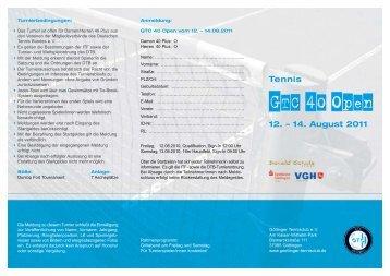 24.05.11 GTC 40 Open 2011 - bei TSC Göttingen