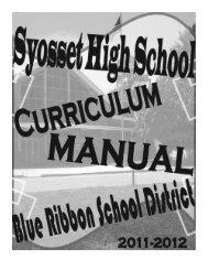 Sonia E. Rutigliano - Syosset High School