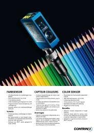 Farbsensor Capteur Couleurs Color sensor