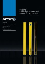 Safetinex Safety light curtains and access control barriers