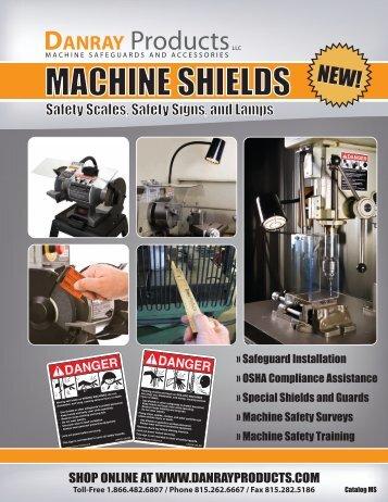 MACHINE SHIELDS - Industrial Safety Controls, Inc.