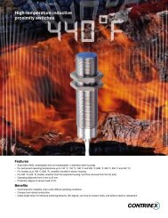 High Temp Proximity Switches - Industrial Safety Controls, Inc.